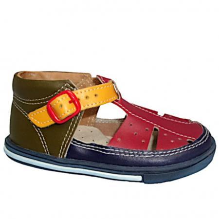 outlet store 362db f718f Mazurek Jungen Mädchen Sandalen Halbschuhe Erste Schuhe Babyschuhe Leder