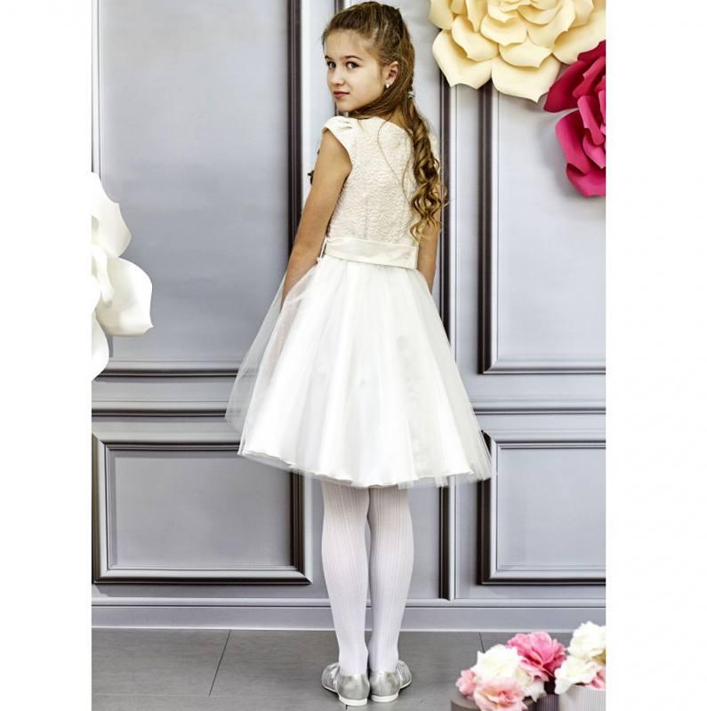 Kleid Weiß Mädchen