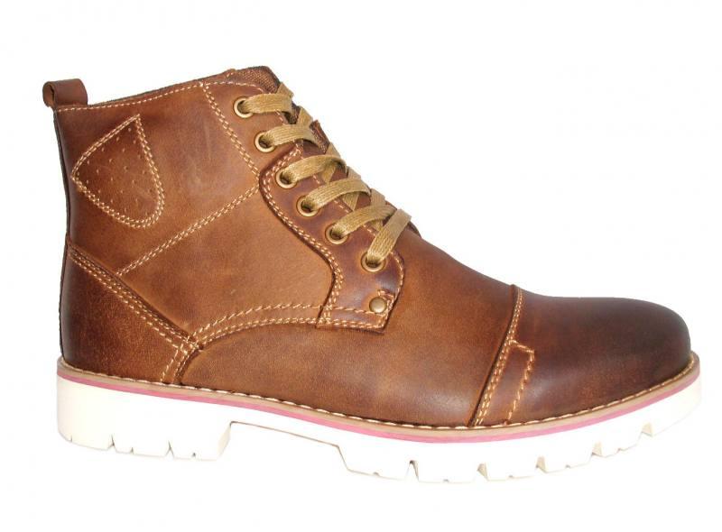 American Club Schuhe Freizeitschuhe für Männer braun