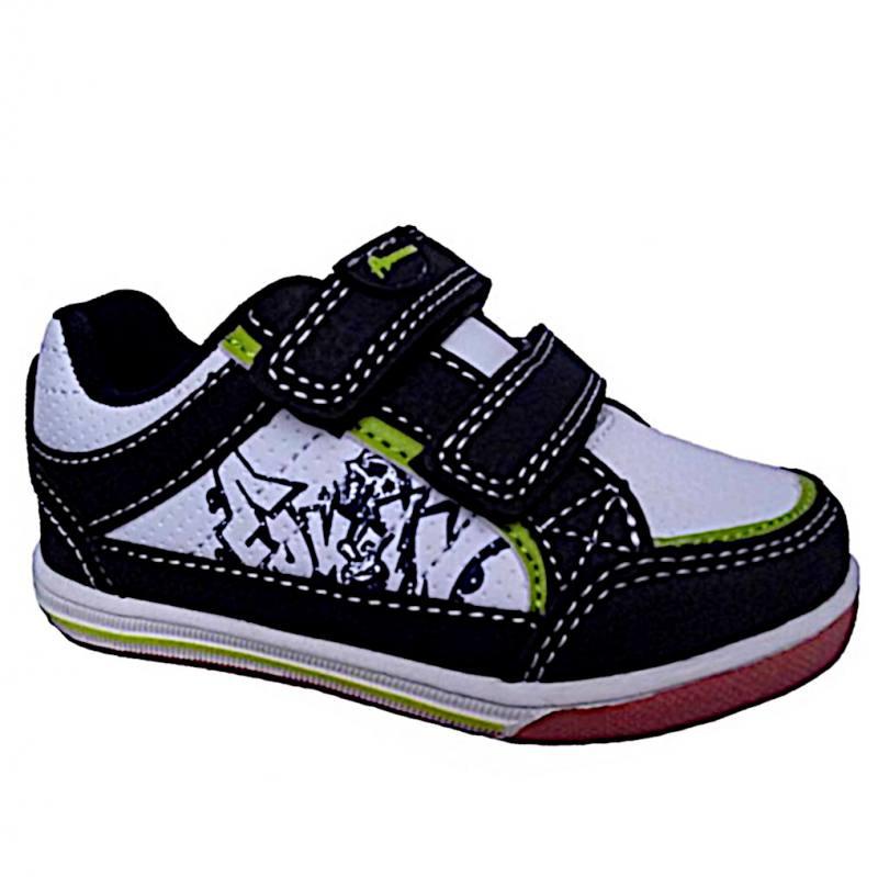 3385a9da878eae American Club Jungen Sneaker Erste Schuhe Babyschuhe Kinderschuhe Navy Weiß