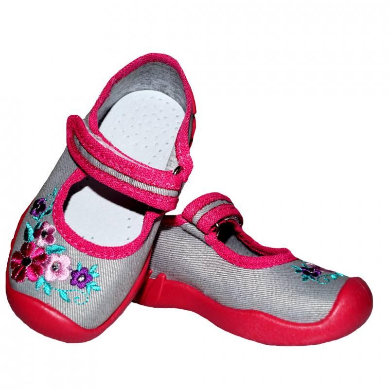 ARS Baby Mädchen Kinder Schuhe Hausschuhe Ballerinas