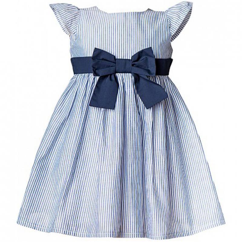 baby kleid blau festlich