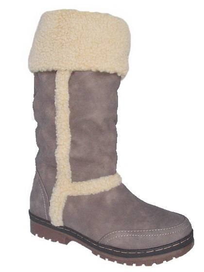 b1844269589dda Gefütterte Damen Winterstiefel   Stone  101078 favorable shoes cheap ...