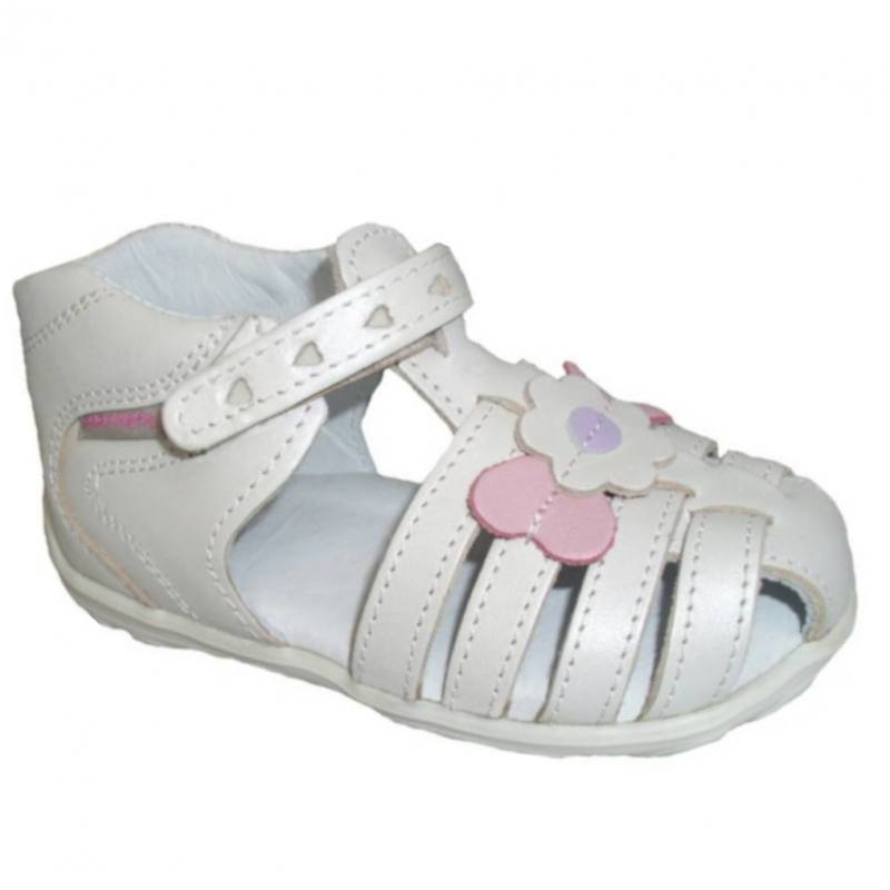 c4c257d19dbc4b Mädchen Kinder Sandalen Babyschuhe Kinderschuhe Sandaletten Leder Weiß