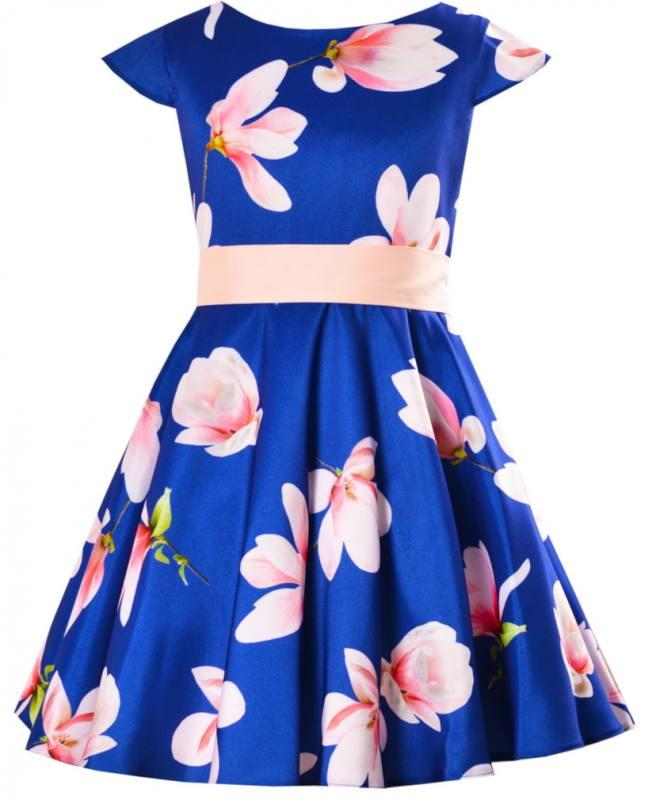 Madchen Kleid Schwungvoll Festlich Party Einschulung Hochzeit