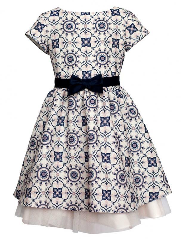 sly m dchen kleid festlich hochzeit einschulung wei blau rosa. Black Bedroom Furniture Sets. Home Design Ideas