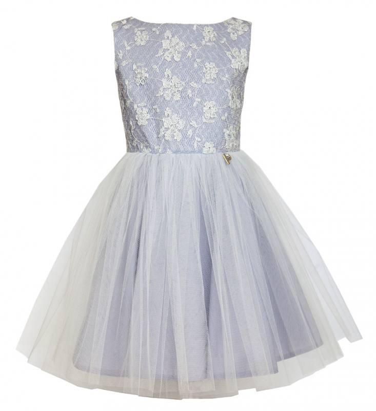 Einschulung Festlich Party Kommunion Hochzeit Mädchen Sly Kleid Tüll qUVSzMpG