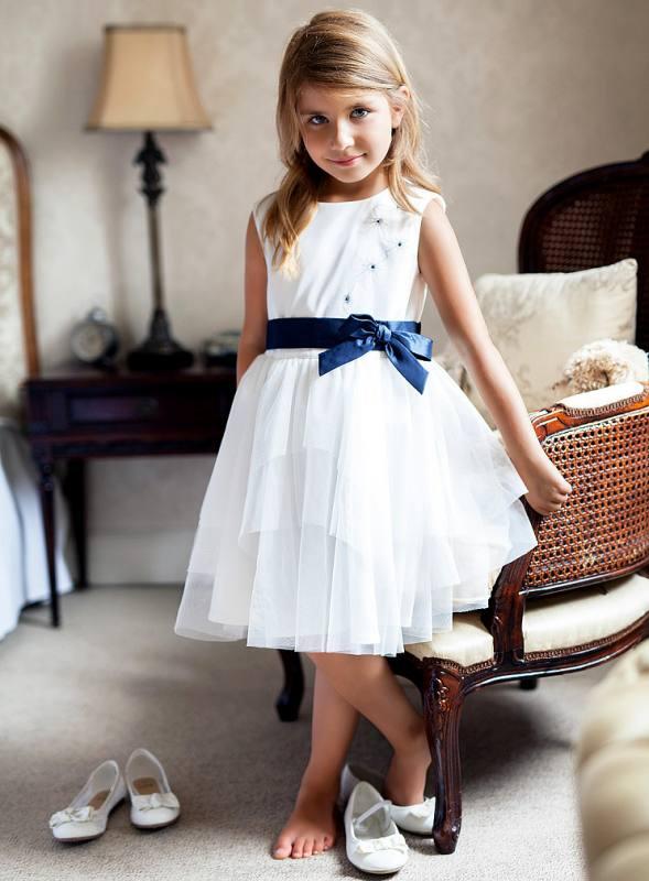 Mädchen Kleid Hochzeit Einschulung Jugendweihe weiß