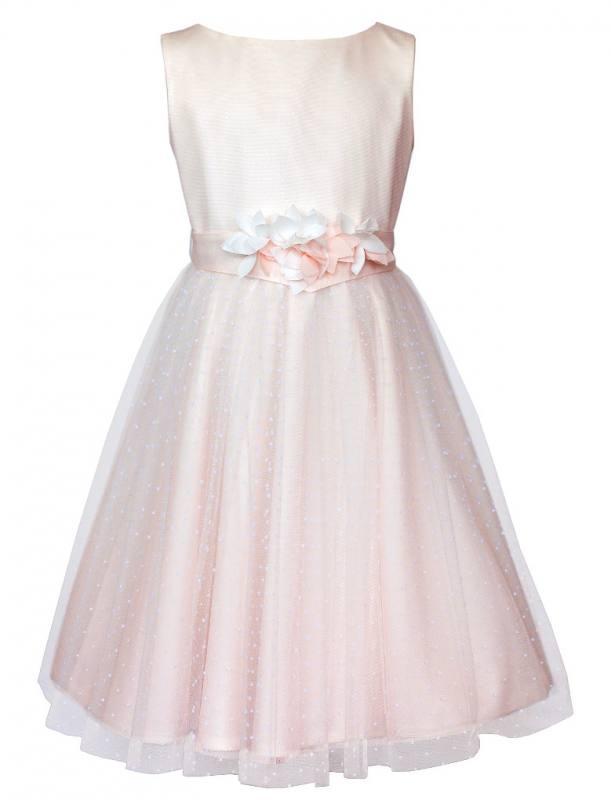 Kleid madchen hochzeit rosa